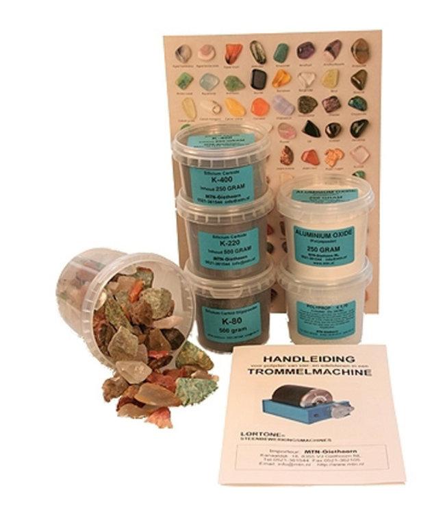 Starter Kit Grinding  / Polishing Powders