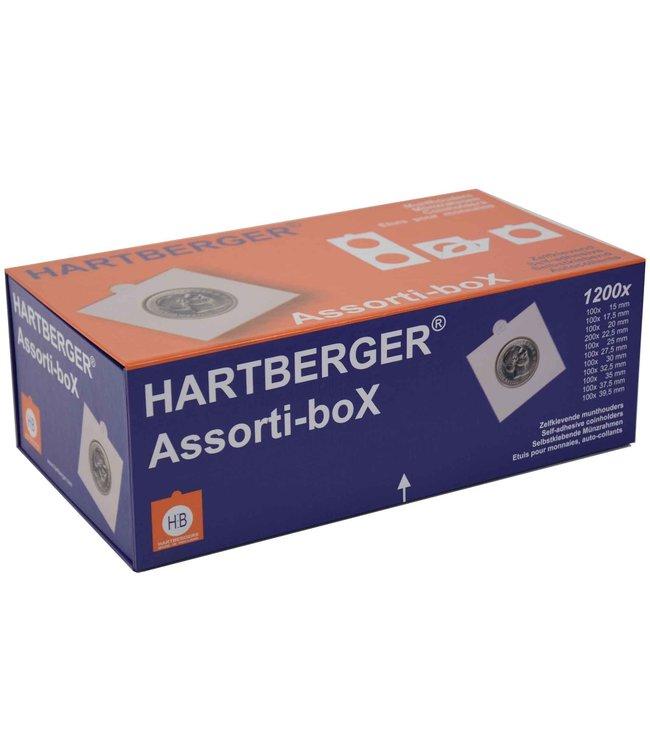 Münzrähmchen  / Assorti Box / 1200 Stück