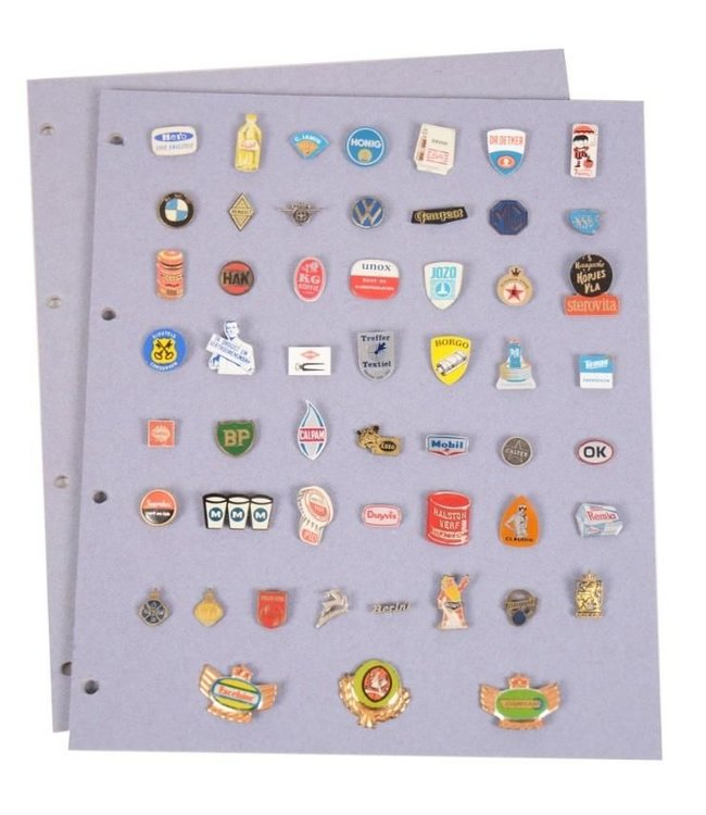 Sheets For Pins / Buttons