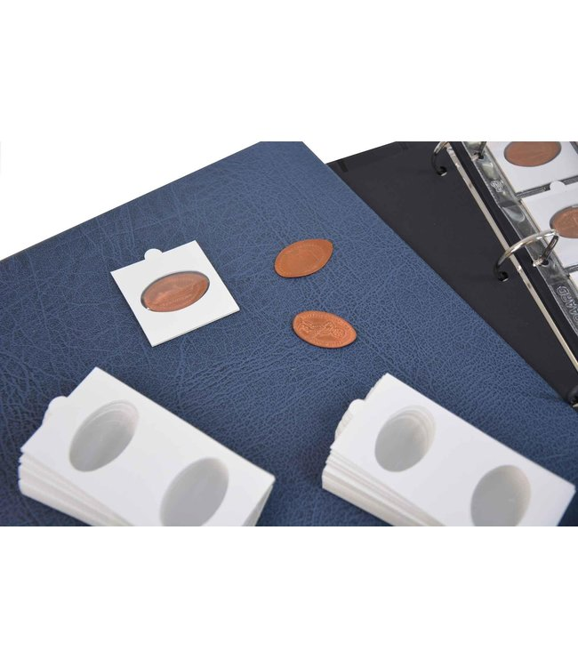 Coin Holders / Self-Adhesive / Pressed Pennies