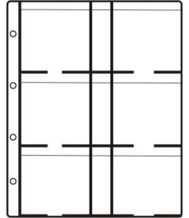 LK 6 Super Sheets / Coinholders