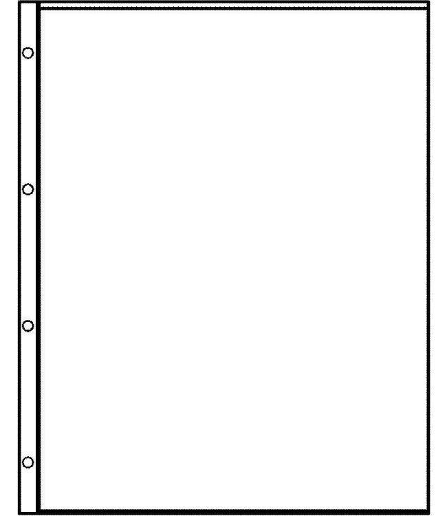 Plastic Sheets Euro-System E-1 / 1 Compartment