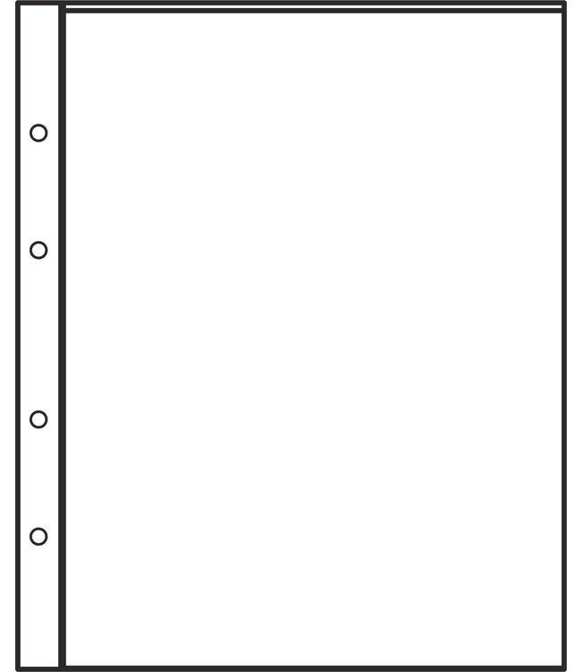 Kunststoffhüllen Combi 1 / 1er Einteilung