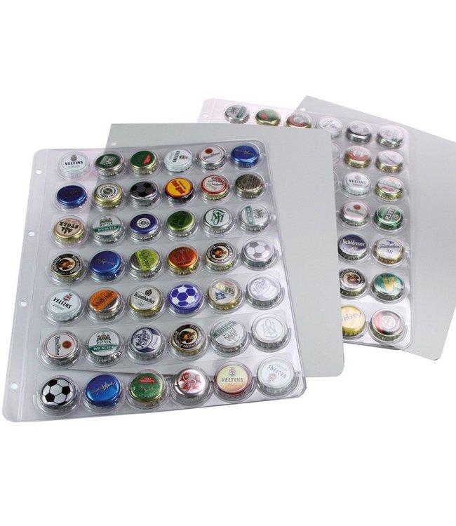 Plastic Sheets Bottle Caps / Safe Album