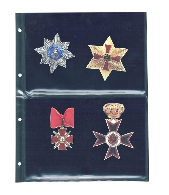 Sheets For Medals / Decorations