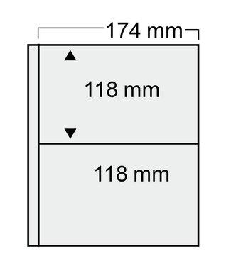 SAFE Compact Bladen Voor Ansichtkaarten / 2 Vaks