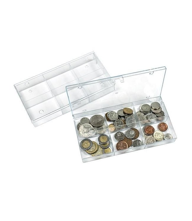 Storage Box With 6 Compartments