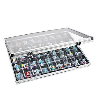 Lindner Display Case / 45 Compartments