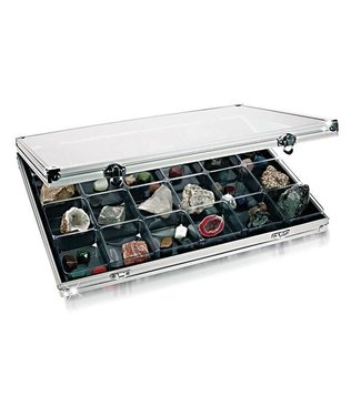 Lindner Display Case / 24 Compartments