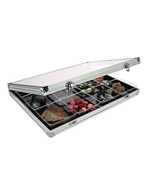 Lindner Display Case / 12 Compartments