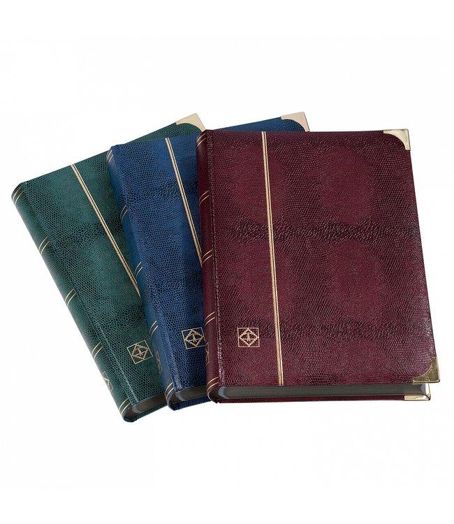 Comfort Deluxe /  Stockbook / CrocodileLeatherLook / Black pages