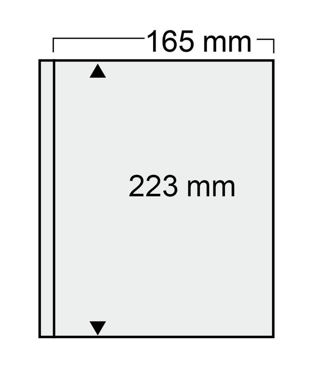 Kunststoffhüllen Compact / 1er Einteilung