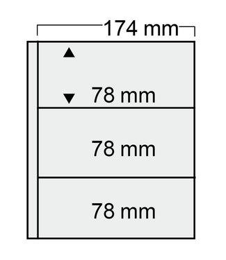 SAFE Kunststoffhüllen Compact / 3er Einteilung