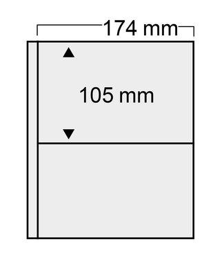 SAFE Kunststoffhüllen Compact / 2er Einteilung