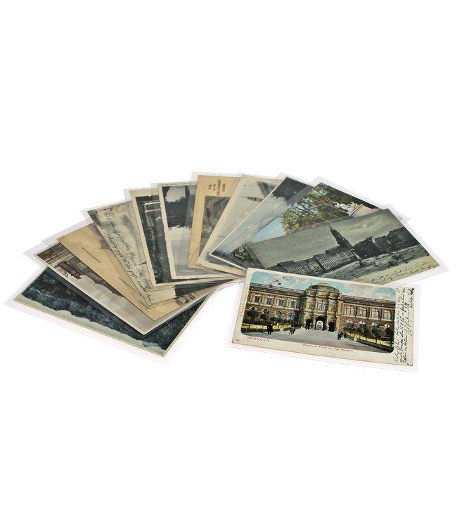Schutzhüllen Für Briefe Und Ansichtskarten / 50-er Pack