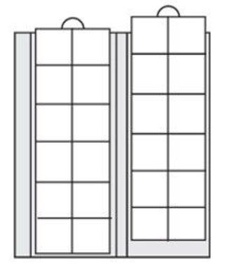 SAFE Münzhüllen / Bis 34 mm