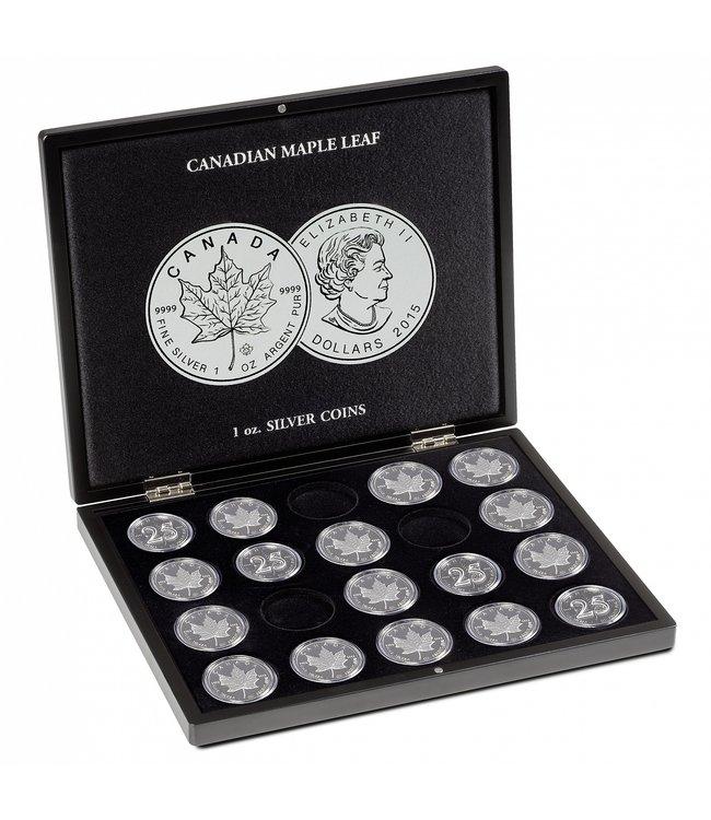 Münzkassette Für 20 Maple Leaf-Silbermünzen
