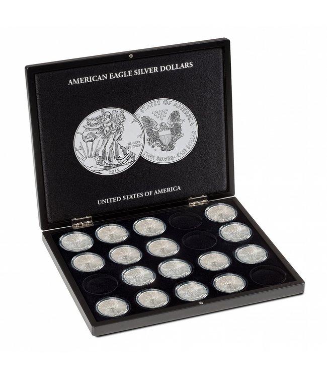 Münzkassette Für 20 American Eagle-Silbermünzen