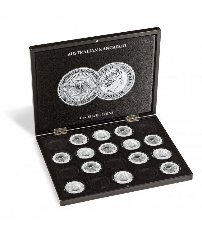 Muntcassette Voor 20 AustralianKangaroo Silver Coins (1 OZ.)