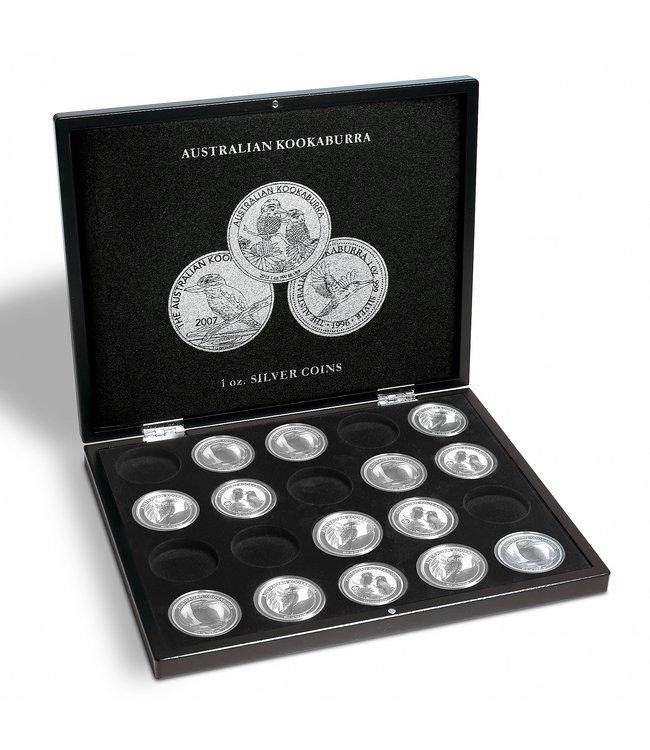 Münzkassette Für 20 Kookaburra -Silbermünzen