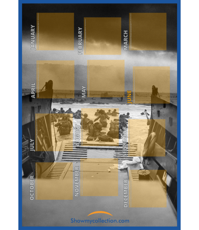 Calendar Militaria
