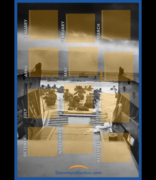 (Verjaardag) Kalender Militaria