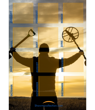 SMC (Birthday) Calendar Metal Detecting 2