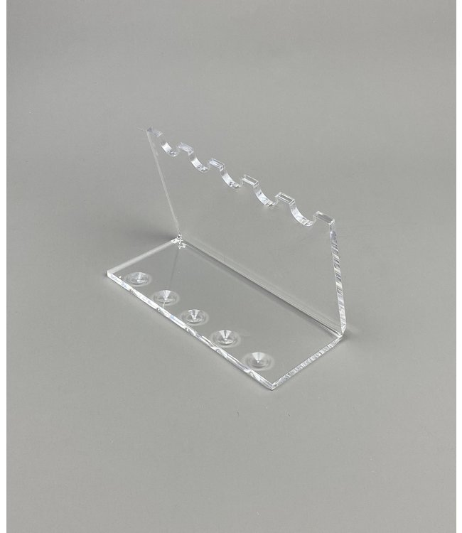 Acrylic Display Stand for 5 Pens / Teaspoons / Bullet Shells / Cartridges