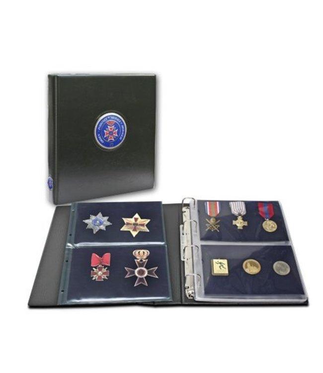 Premium Album Voor Medailles / Onderscheidingen
