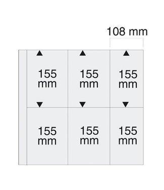 SAFE Kunststoffhüllen Maxi / 6er Einteilung / 108 mm x 155 mm