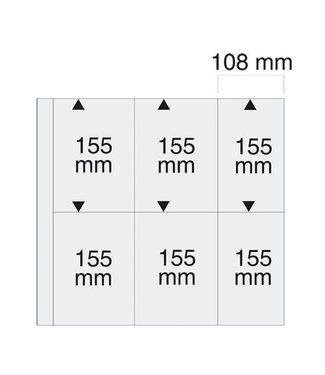 SAFE Sheets Maxi / 6 compartments / 108 mm x 155 mm