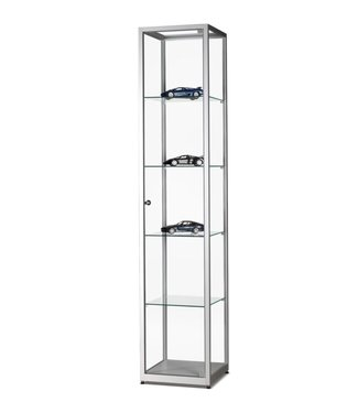 SMC Display Cabinet Marcus / Silver