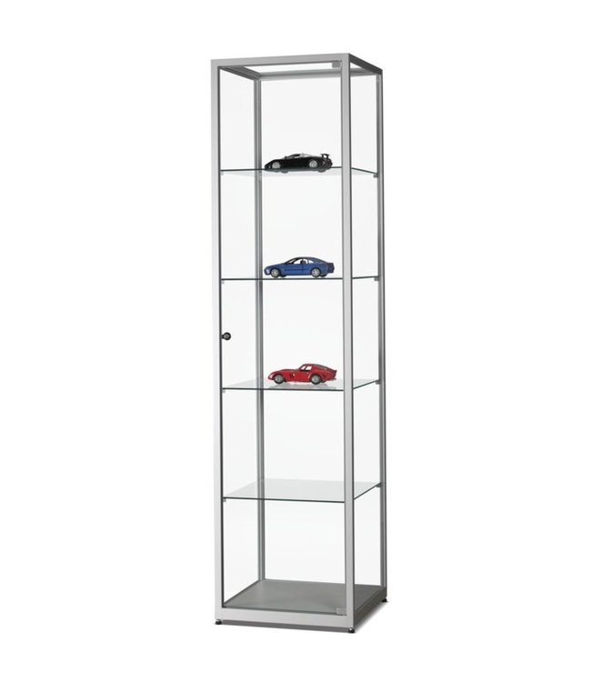 Display Cabinet Floris / Silver