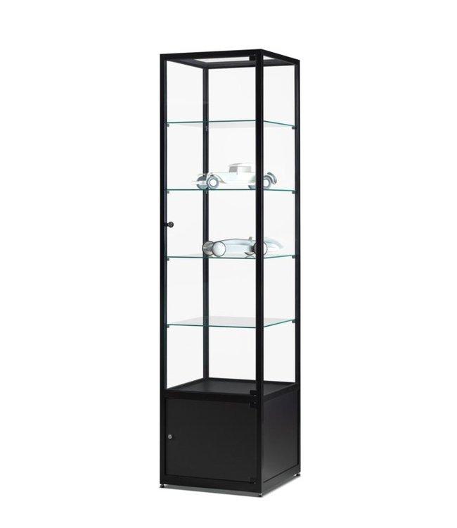 Display Cabinet Floris / Black / Base Cabinet