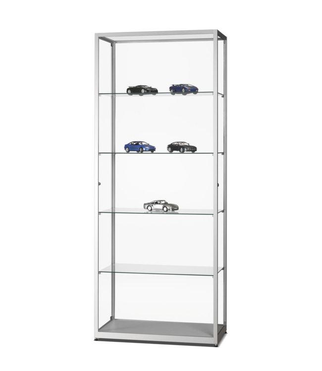 Display Cabinet Radboud / Silver / Side doors