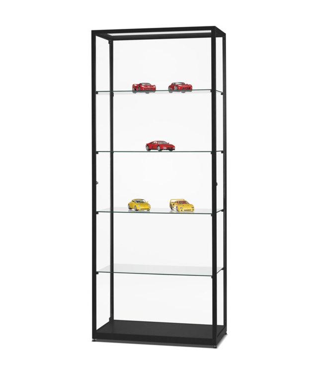 Display Cabinet Radboud / Black / Side doors
