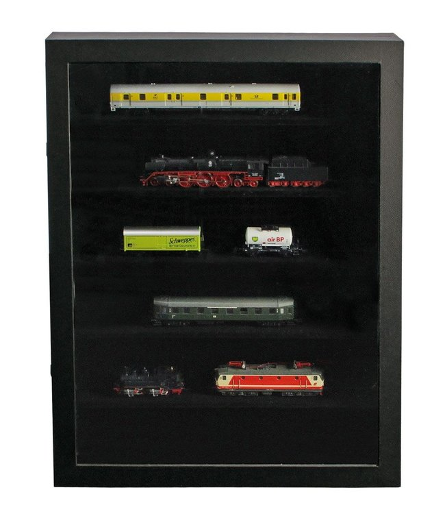 Display Case / Black Edition / 6 Compartments