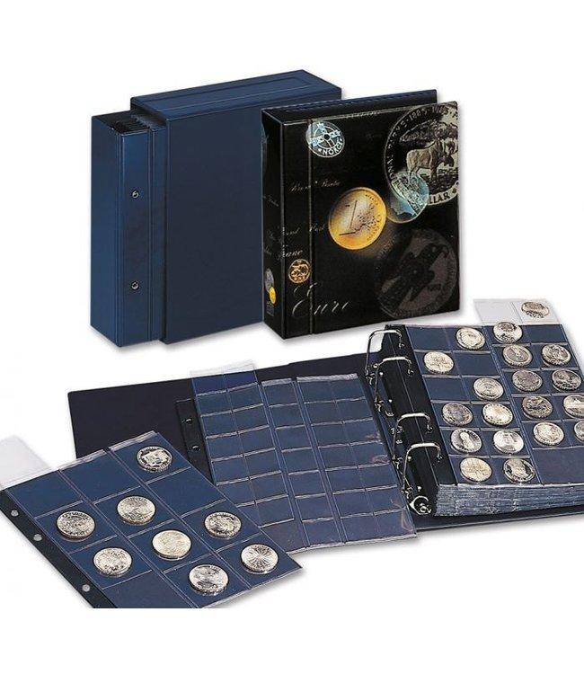 Coin Album / Compact / Blue
