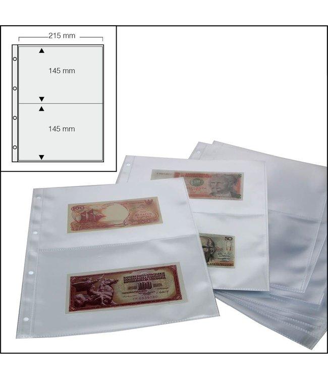 Banknoten-Ersatzblätter / 2-er Einteilung