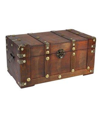 SAFE Wooden Treasure Box / Large