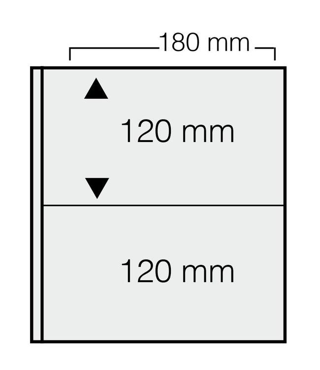 Kunststoffhüllen Für Banknoten / 2er Einteilung