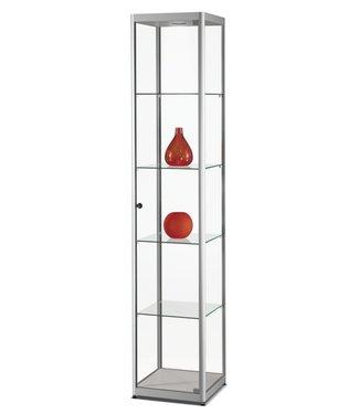 SMC Display Cabinet Marcus / Silver / LED Basic