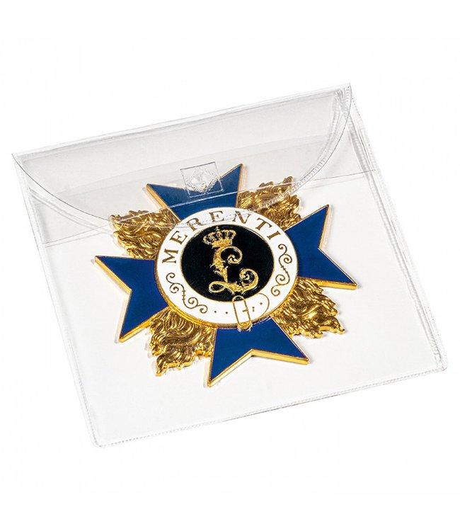 Hoesjes Voor Medailles / Onderscheidingen / Eretekens / 100 mm x 100 mm