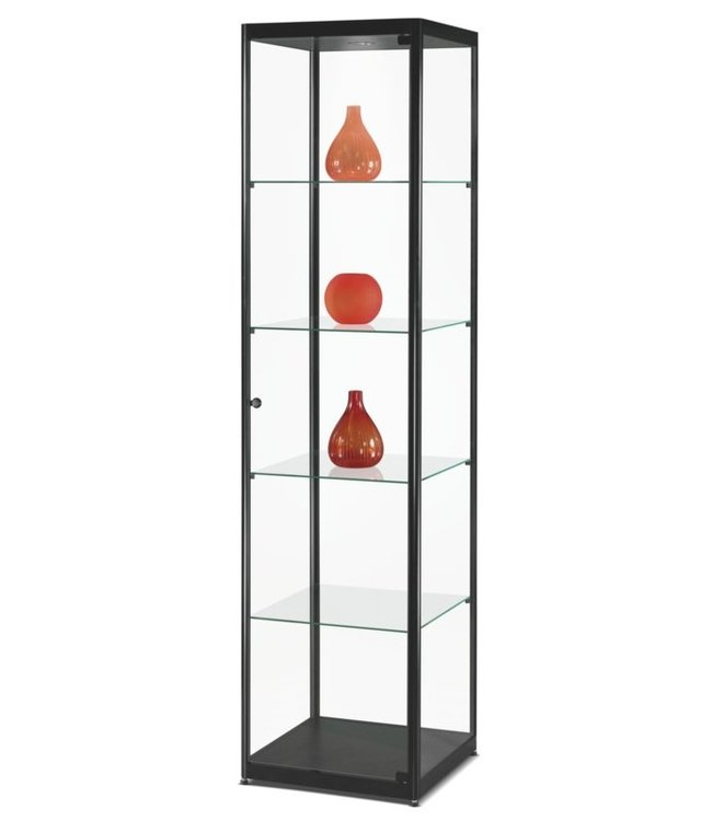 Display Cabinet Floris / Black / LED Basic