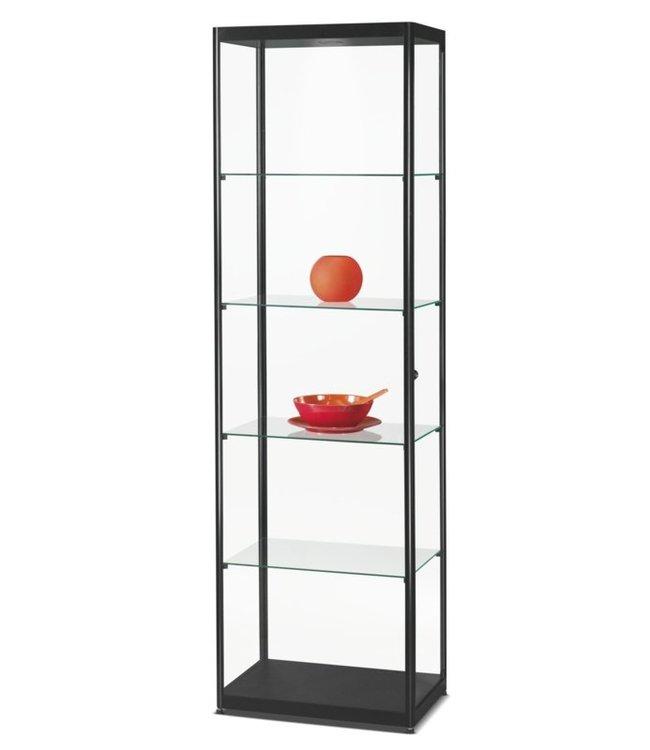 Display Cabinet Claudius / Black / Basic LED