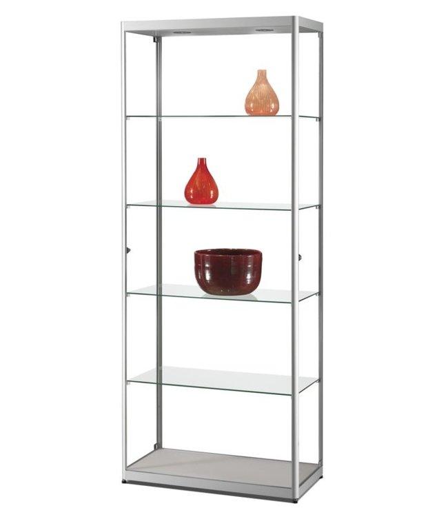 Display Cabinet Radboud / Silver / Side doors / Basic LED