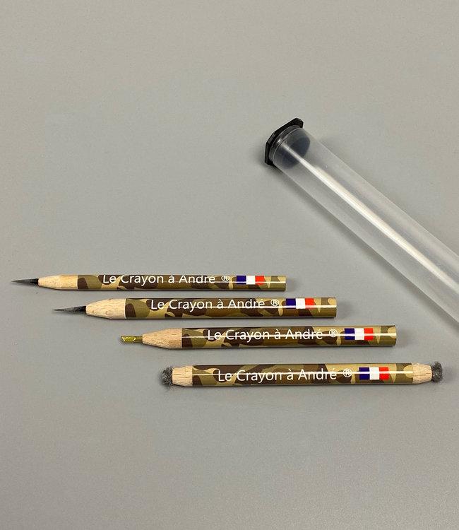 Set 1 Reinigingspotloden Le Crayon à André (4 st.)