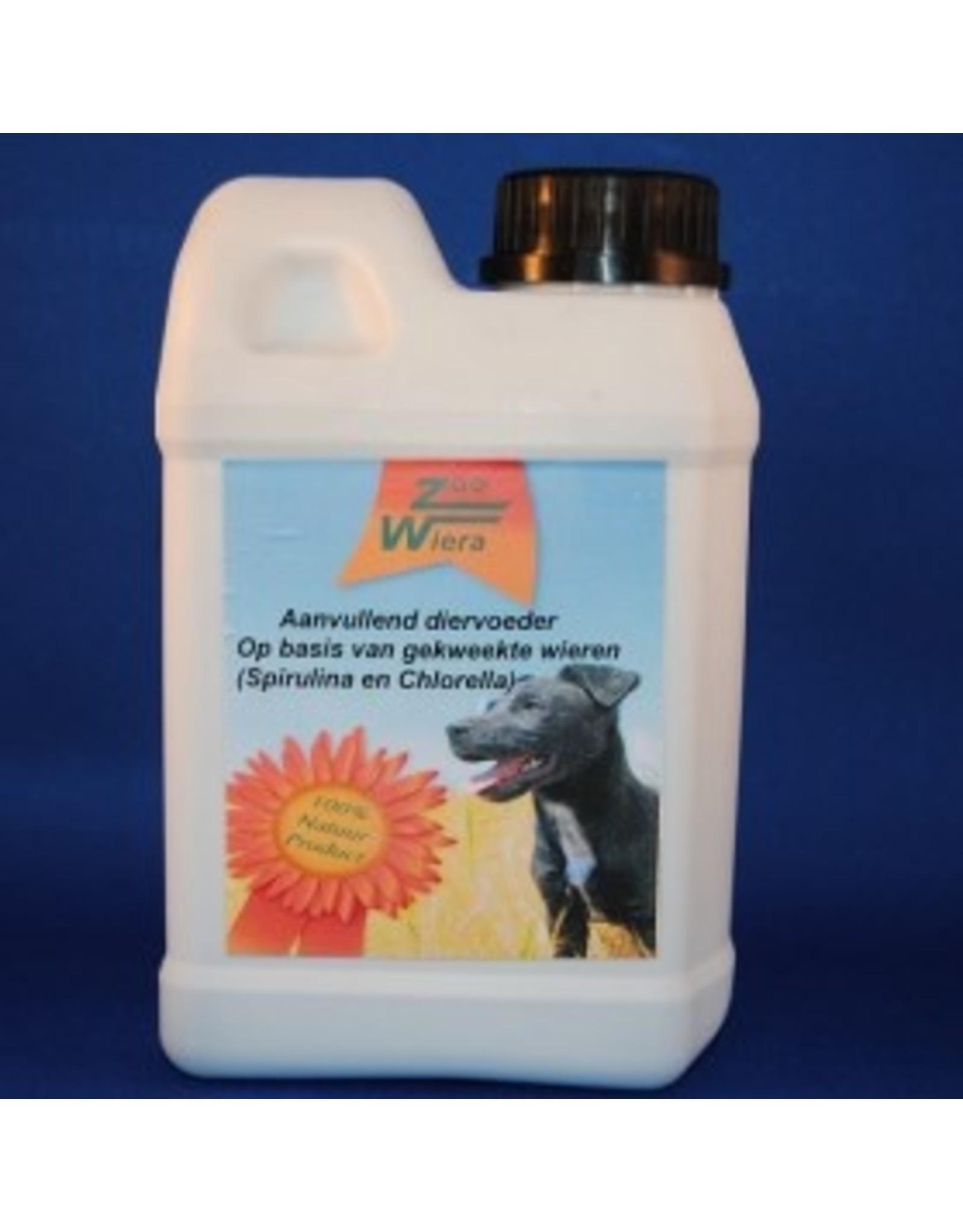 Zoowiera Chlorella-spirulina  Zoowiera hond 1 l
