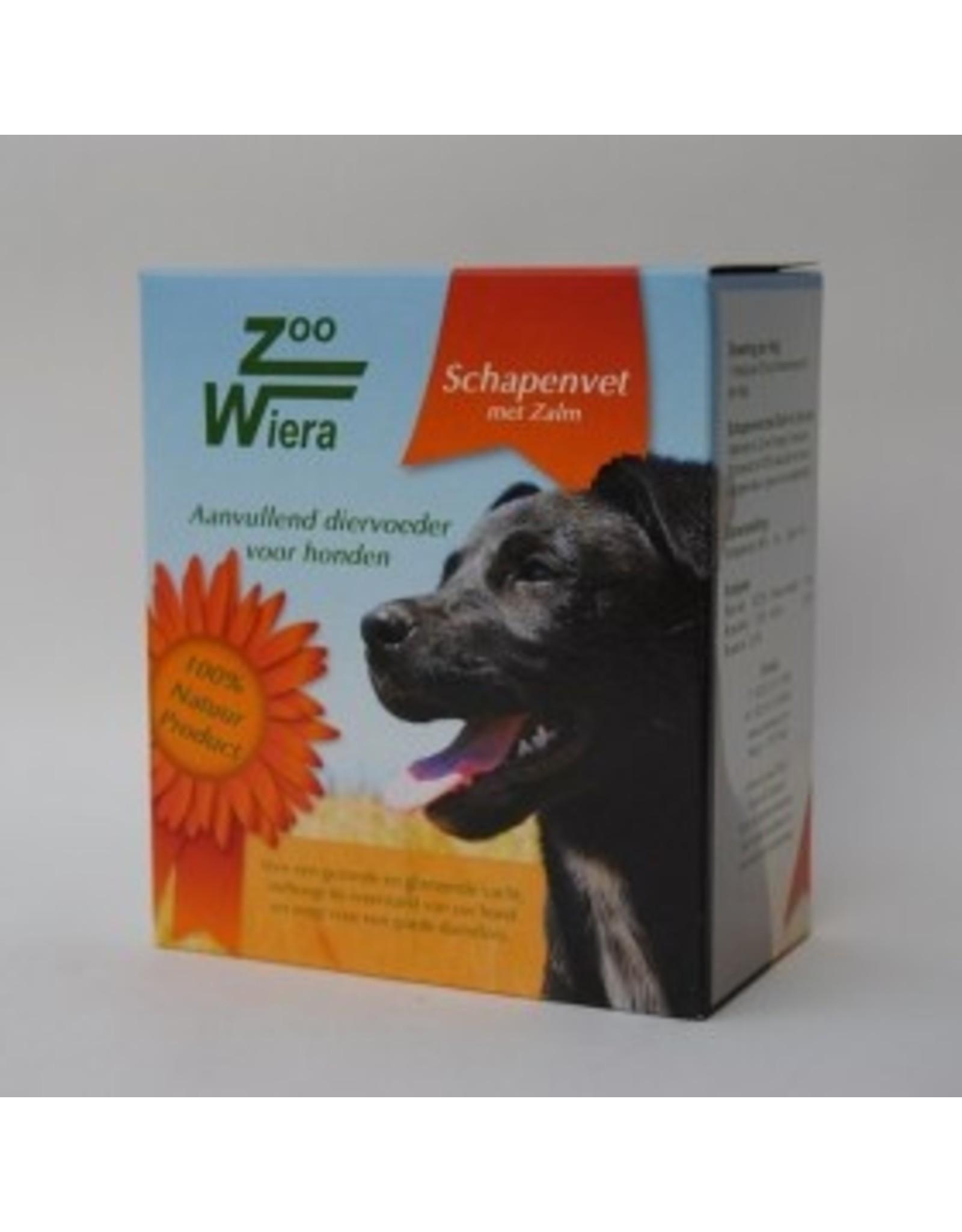 Zoowiera Schapenvet blokje zalm (bonbons) 40 stuks/ 265 gram