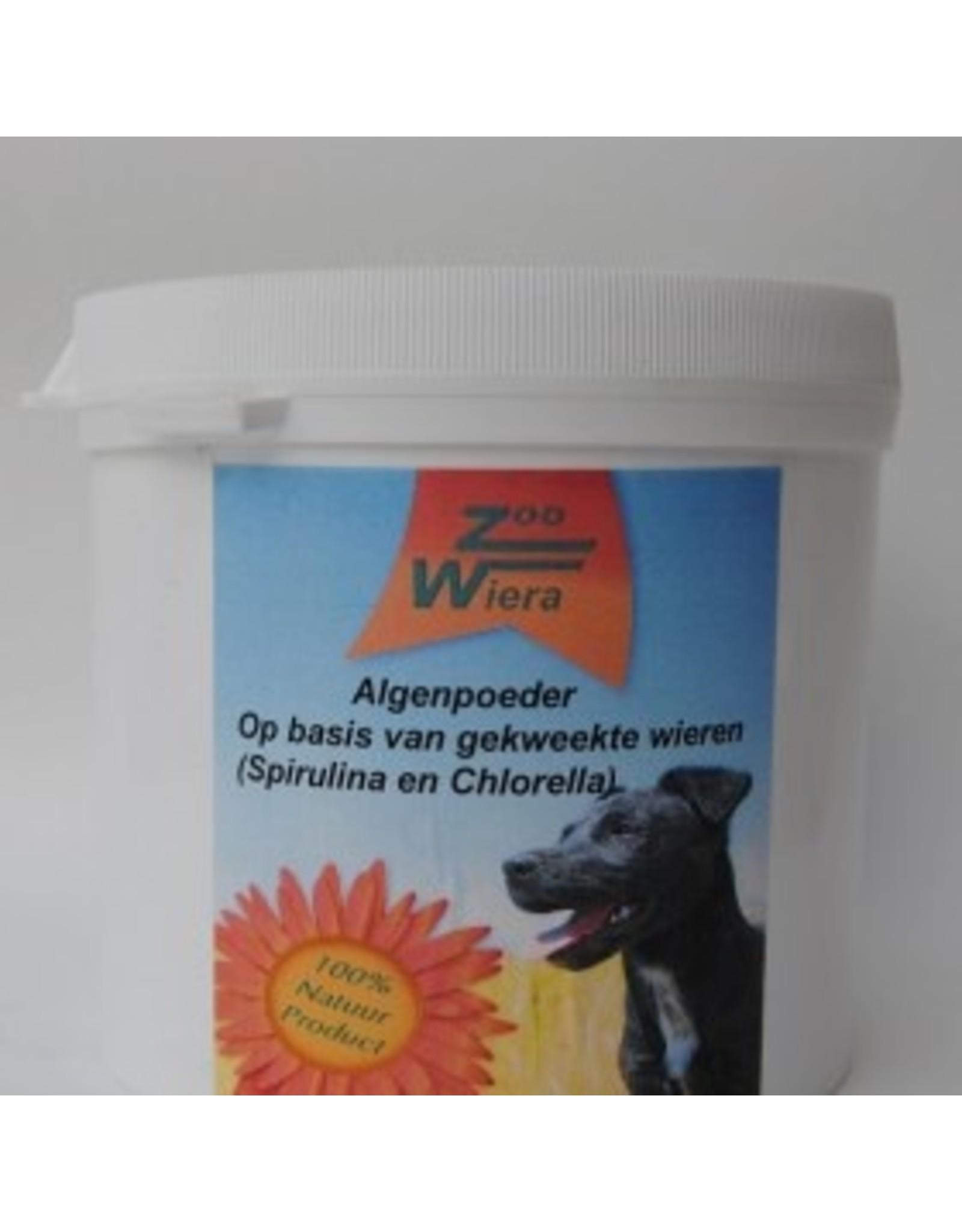 Zoowiera Chlorella Spirulina Algenpoeder hond 600 gram